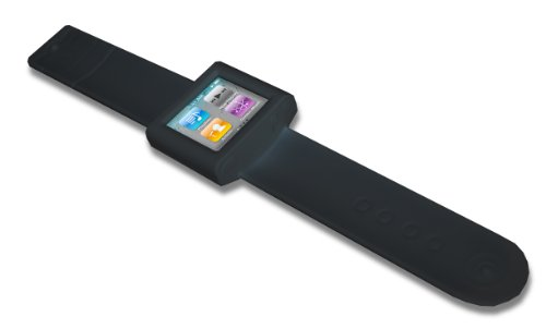 Thumbs Up SNALETBLK Armband Case für Apple iPod Nano schwarz Apple Ipod Armband