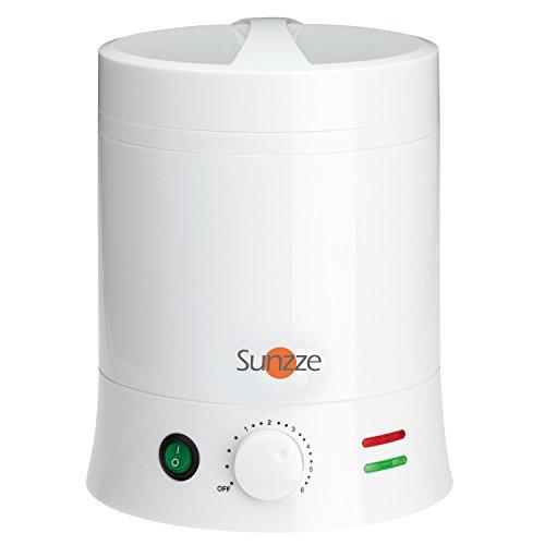 Sunzze profesional 800ml Cera calentador de 800ml para latas, bloques o perlas de cera