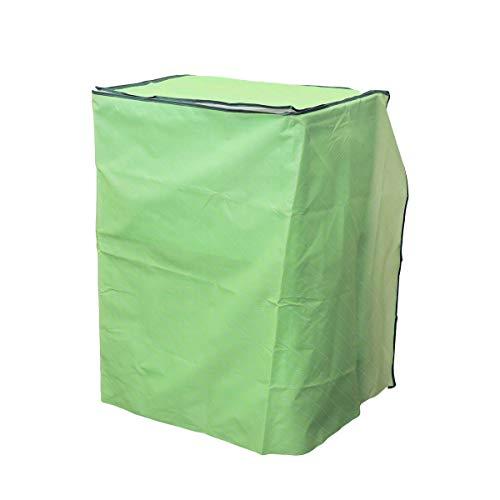 Vosarea coprilavatrice verticale impermeabile con cerniera anti-spruzzi e anti sunlight (tipo a cilindro singolo, verde)