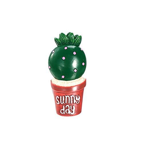 GZXYYY 1 PZ Carino Auto Deodorante Cactus Auto balsamo Decorativo Profumo Auto Aria condizionata Profumo Clip Decorazione, A