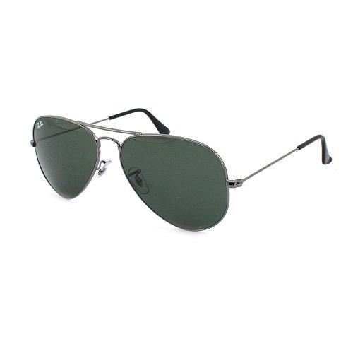 Ray-Ban Herren Sonnenbrille GUN METAL FRAME