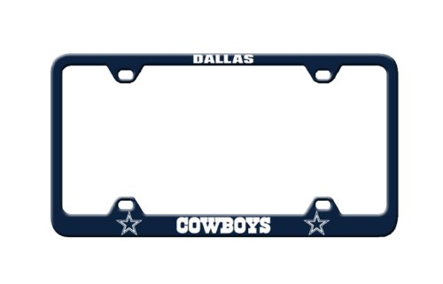 Fremont Die NFL Dallas Cowboys Laser Nummernschild Rahmen