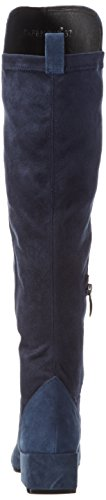Café Noir Nla502, Chaussures Bateau Femme Bleu - Blau (BLU 228)