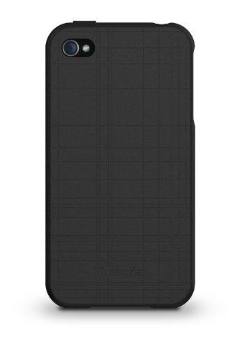 XtremeMac IPP-TW5-53 Tuffwrap Lime Green Silikon-Schutzhülle für Apple iPhone 4/4S grün schwarz