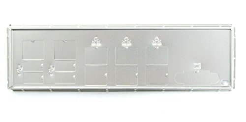 Supermicro ATX I/O Shield Anschluss-Blende Blech A1SRM X10SDV MCP-260-00084-0N (Supermicro I/o Shield)