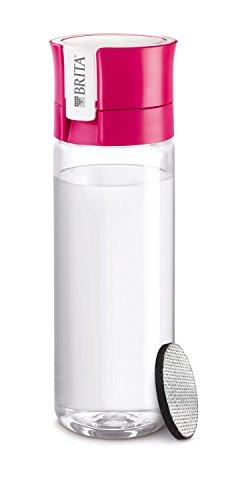 BRITA Wasserfilter-Flasche fill&go Vital pink – Praktische Trinkflasche mit Wasserfilter für unterwegs aus BPA-freiem Kunststoff