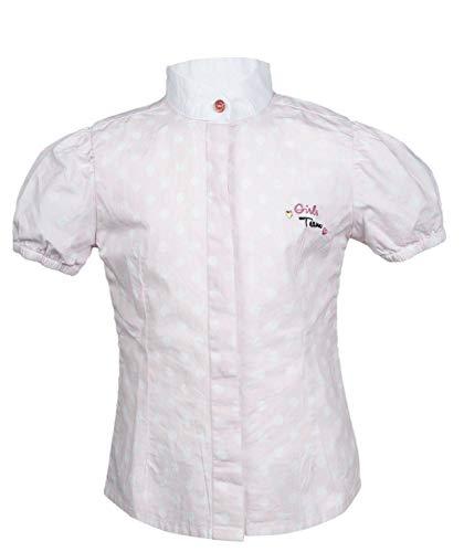 HKM Erwachsene Turnierbluse -Santa Fe-3812 rosa/weiß98/104 Hose, 3812 rosa/Weiß, 98/104