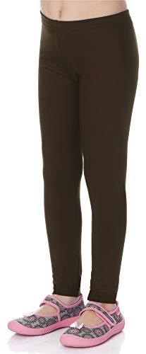 2fc8f3775a Merry Style Leggings Lunghi Bambina e Ragazza MS10-130(Marrone, 128)