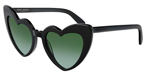 Saint Laurent Sonnenbrillen Loulou SL 181 Black/Green Damenbrillen