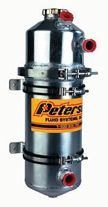PETERSON FLUID 08-0025 Dry Sump Tank 2 Gallon -12an - Peterson Tank