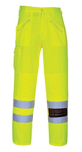 Portwest E061–Hi-Vis Action fer à repasser, E061YERM Yello
