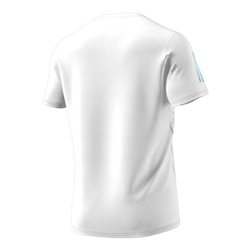Adidas Response Tee M T-Shirt Running, Herren Weiß - (weiß)