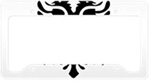 Fhdang Decor Albanischer Adler Kennzeichenhalter aus Aluminium für Nummernschild, Kfz-Zubehör, 15,2 x 30,5 cm (Adler Kennzeichenhalter)