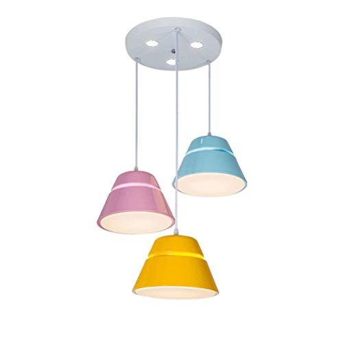BIN Nordic Chandelier, LED Acryl-Kronleuchter, 3 Inner Ceiling Pendant Lights, Home Lighting, 220v Inner Bins