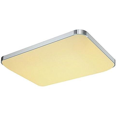 SAILUN 48 W Blanco Cálido/Blanco Frío/regulable LED Modern techo Proyección Piso Salón Dormitorio Cocina Ahorro de Energía Luz 85 – 265 V 50 Hz …