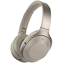 Sony MDR-1000X Wireless Bluetooth Noise Cancelling Ambient Sound Touch Sensor High Resolution Audio Headphones - Beige