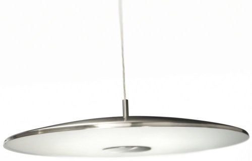 Philips myLiving Pendelleuchte, 40 W, Balance, 1-flammig, matt verchromt, 402351716 -
