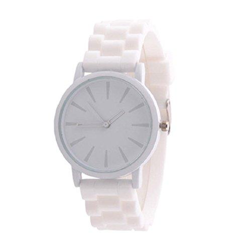 Reloj pulsera, KanLin1986 Goma De Silicona De Color