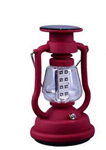 Solare Campeggio Luce Di Ricarica Cavallo Luce Esterna Tenda Portatile Luce Portatile Campeggio,Red