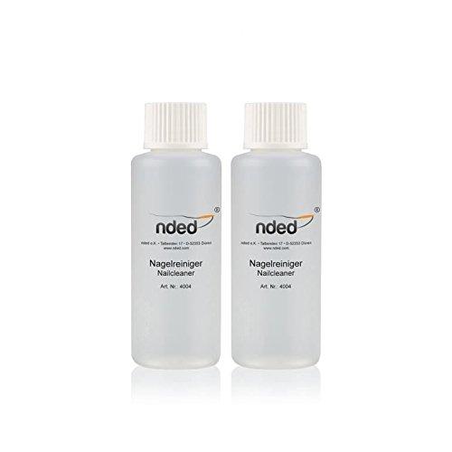 Lot kit 2 Cleaner NDED dégraissants gels UV et vernis semi-perma