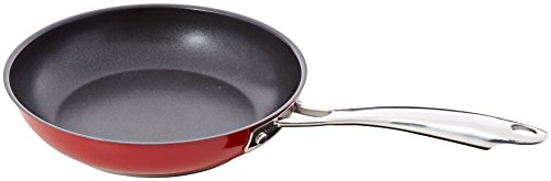 "KitchenAid KCS10NKER Stainless Steel 10"" Nonstick Skillet Cookware - Empire Red"