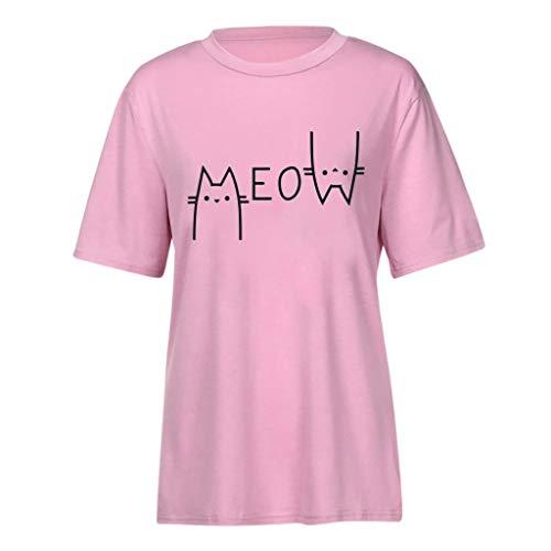 Der Sommer Der Frauen Netter Druck Oberteile Kurzarm T-Shirt (Givenchy-t-shirt Frauen)
