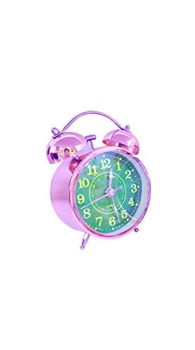 SCRT Timbre Doble Reloj De Alarma Resalte Chrome Superficie