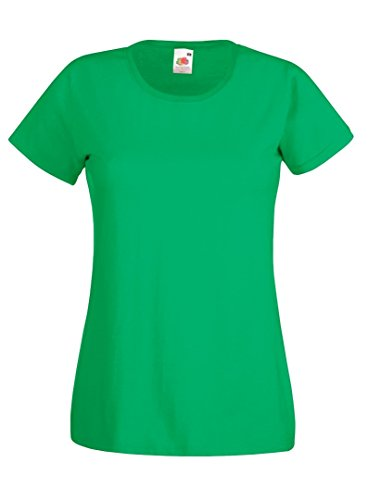 Fruit of the Loom - T-shirt - Femme Kelly