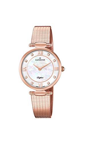 Candino Reloj Análogo clásico para Mujer de Cuarzo con Correa en Acero Inoxidable C4668/1