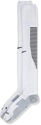 Nike Socken Squad Over-the-Calf, White/Black/Black, M, SX5346-100
