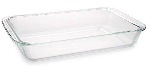 Glas-Kochgeschirr Vorratsdose Mikrowellendose Backform Auflaufform Glas , Glas-Kochgeschirr:Auflaufform 3000 ml (ohne Deckel)