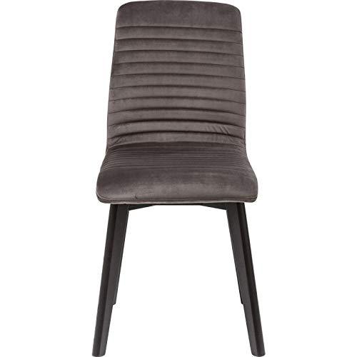 Kare Design Stuhl Lara Grün Samt Silber 44 92 45 44 x 45 x 92 Stuhl Lara Silber Samt Teilholz u. MDF - Lara Design