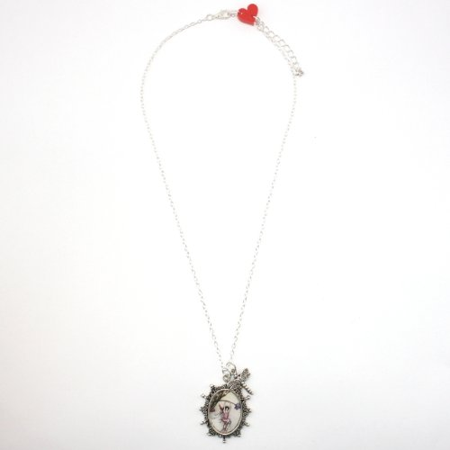 Sour Cherry Statue Of Liberty Necklace