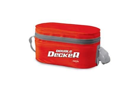 Milton Double Decker SOFTLINE Tiffin Box RED