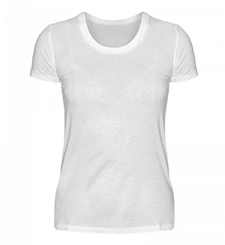 Hochwertiges Damen Organic Shirt - Rentner - Gefährlichster Job der Welt Weiß