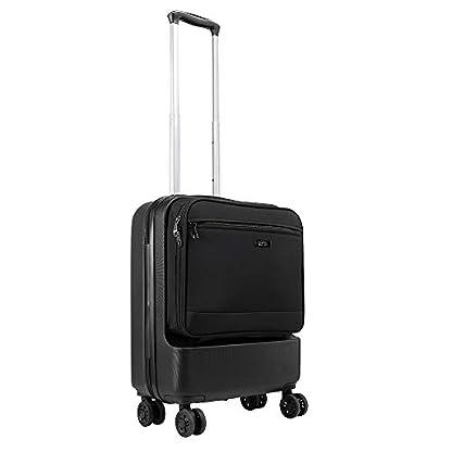 Cabin Max Fusion – Maleta de Cabina de ABS con Bolsillo de Viaje de Fácil Acceso – Maleta de Viaje de 55x40x20 cm con 4 Ruedas Giratorias – 3,3 kg y una Capacidad Masiva de 38L