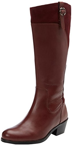 Joe Browns Leather And Suede, Bottes femme Purple (B-Burgundy)