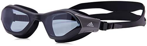 adidas Unisex- Erwachsene PERSISTAR 180 Schwimmbrillen, Smoke Lenses Utility Black, M