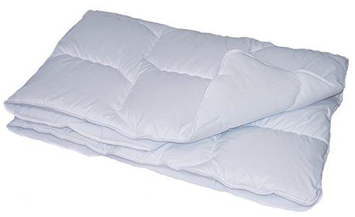 f.a.n. Kinderbettdecke ca. 100x135 cm leichte Ganzjahres Bettdecke Bezugsstoff 100% Polyester