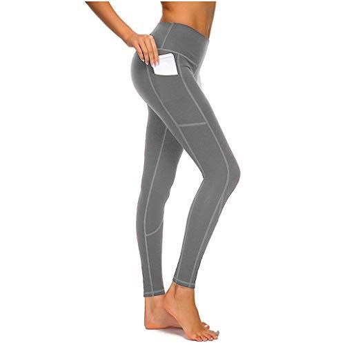 d8c514c07160 Eaylis Damen Hohe Taille Sport Leggings, Damen Patchwork-Netz Sport  Leggings, Yoga Sporthose, Damen Leggings, Classics Stretch Workout Fitness  ...