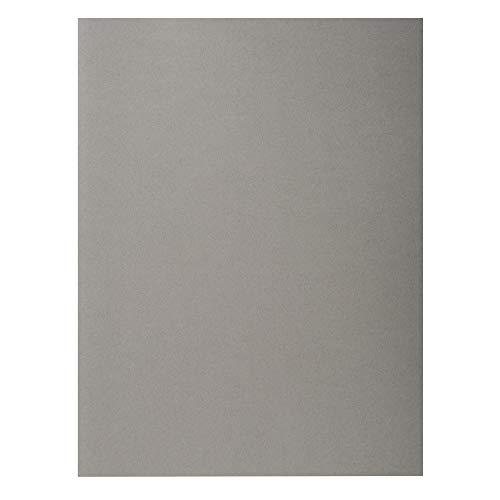 Exacompta 210009E Packung mit 100 Rock 's Papiermappen 210g - Grau