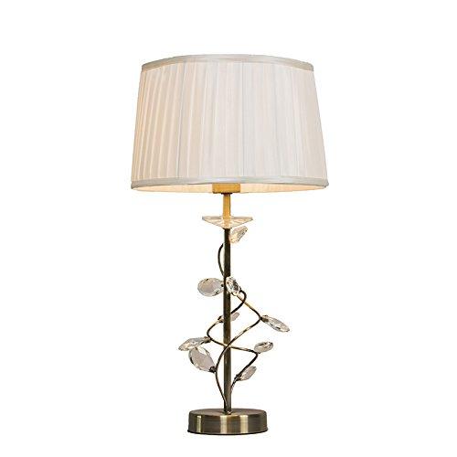 qazqa-classique-antique-rustique-lampe-de-table-ruffle-antique-or-cristal-metal-tissu-rond-compatibl