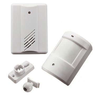 Hohe Qualität Infrarot drahtlose Türklingel Alarm System Motion Sensor mit Empfänger - Motion Sensor Alarm System