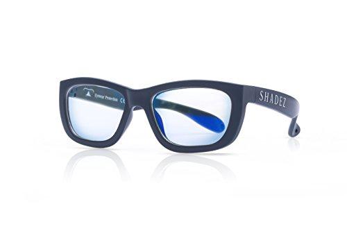 Shadez Unisex Brillengestell Shz 114, Grau (Grey), Medium (Herstellergröße: 7-16 Jahre) (Ophthalmische Linsen)