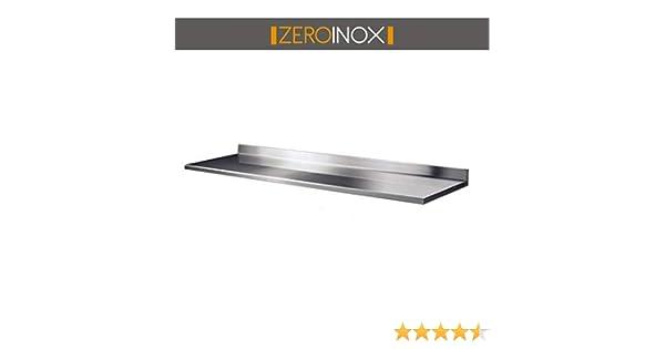 Professionnel cuisine 180x60x4h Plan de travail toutes les mesures 60/cm profondeur pour table en acier avec plateau /à g/âteaux