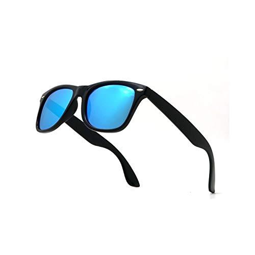 Sports Eyewear, Classic Sunglasses Men Polarisiert NEW Women Blue Lens Polarizing Night Driving Polarised Sun Glasses For Women Driver NOT INCLUDE BOX 7 Black Night Vision