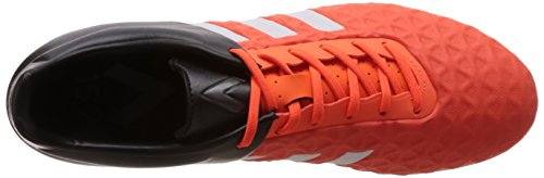 adidas Performance Ace15.2 Fg/Ag Herren Fußballschuhe Orange (Ftwr White/Core Black/Solar Orange)