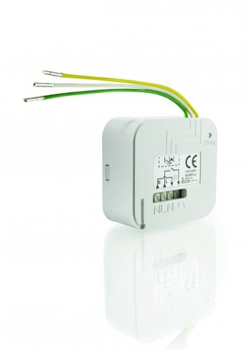 Preisvergleich Produktbild Somfy 2401161 Micro Funkempfänger Unterputz Lighting Inwall Receiver RTS für Licht 500 W, 230 V, weiß
