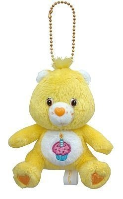 Care Bears Plush Doll Key Chain Birthday Bear (Japan import / The package and the manual are written in Japanese)