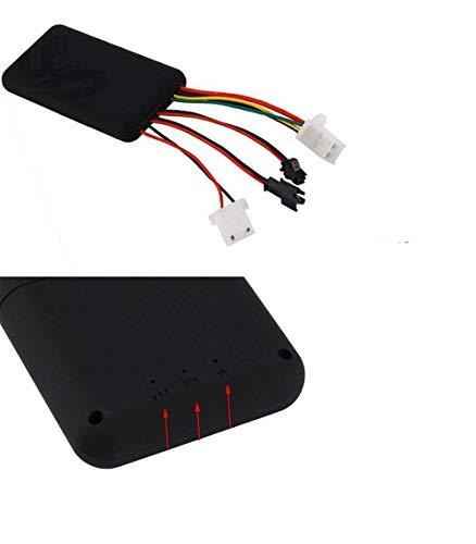 319HgWz404L - Localizador GPS/GSM/GPRS de seguimiento para vehículos, alarma de seguimiento antirrobo de marcación SMS, plataforma gratuita de seguimiento en línea